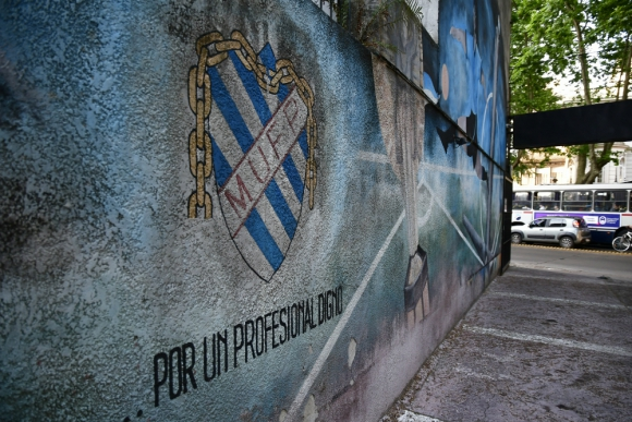 Sede de la Mutual Uruguaya de Futbolistas Profesionales. Foto: Fernando Ponzetto.