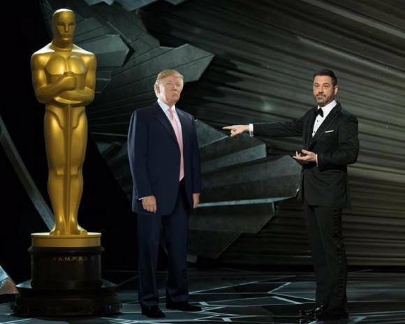 Jimmy Kimmel en los Oscar 2018