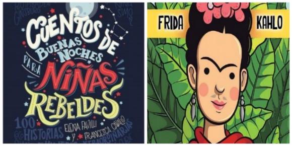 Cuentos de buenas noches para niñas rebeldes y Colección Antiprincesas. Foto: Difusión