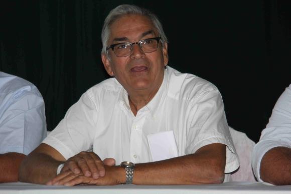 Enzo Benech durante inauguración de Expoactiva. Foto: Daniel Rojas