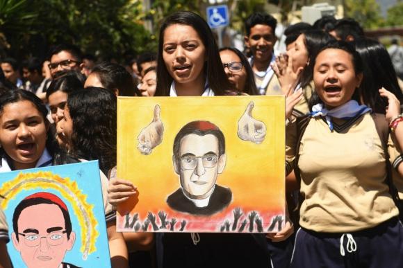 Romero: su caso estuvo frenado por años. Foto: AFP
