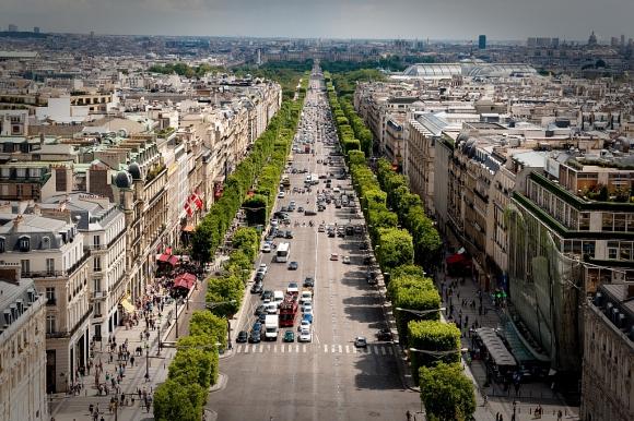 Champs Elysées, Francia