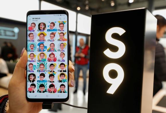 Samsung. El S9 se lanzó en la víspera del MWC. Foto: Reuters.