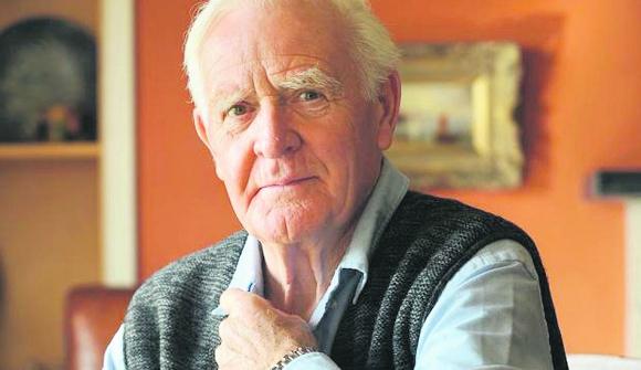 John Le Carré, maestro de la novela de espionaje de todos los tiempos.