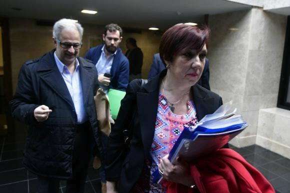 En una de las tantas comparecencias Muñiz tuvo duros choques con diputados. Foto: F. Ponzetto