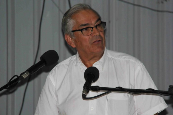 Enzo Benech, ministro de Ganadería, Agricultura y Pesca. Foto: Daniel Rojas.