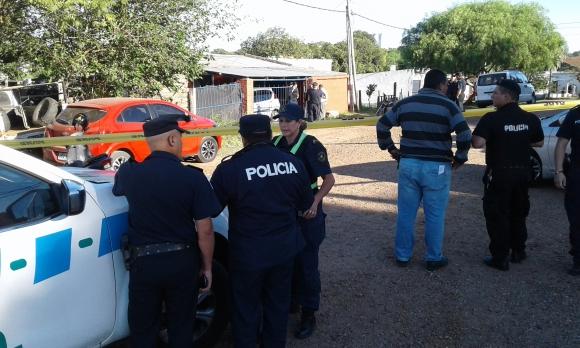 La casa donde Olga Costa y Fernando Farinha fueron asesinados. Foto: Luis Pérez.
