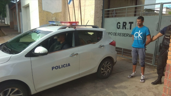 El sospechoso fue detenido cuando viajaba de Montevideo a Melo. Foto: Néstor Araújo