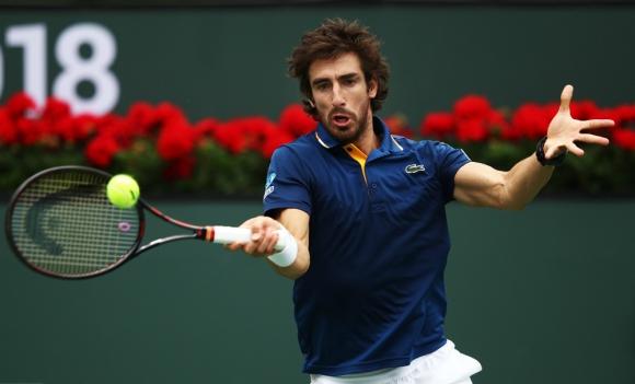 Pablo Cuevas arrancó el Masters 1.000 de Indian Wells con un buen triunfo. Foto: AFP