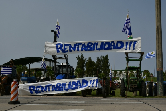 """Los """"autoconvocados"""" vuelven a las rutas y ya se están organizando en sus localidades. Foto: Fernando Ponzetto"""