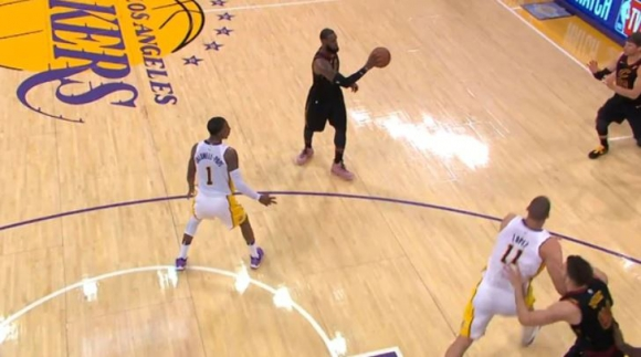 LeBron James. Foto: Captura de video.