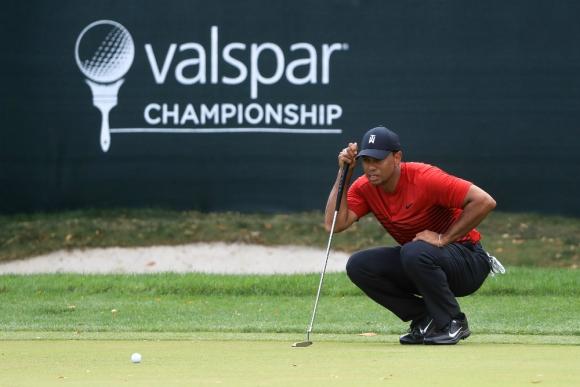 Tiger Woods demostró que está vigente y que las operaciones quedaron atrás
