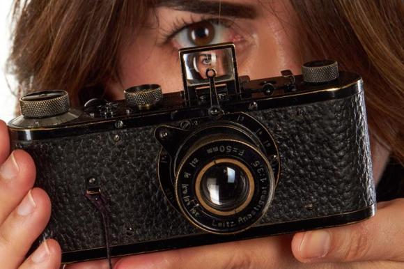 Galería WeLa cámara Leica subastada por la  Galería Westlicht. Foto: EFEstlicht