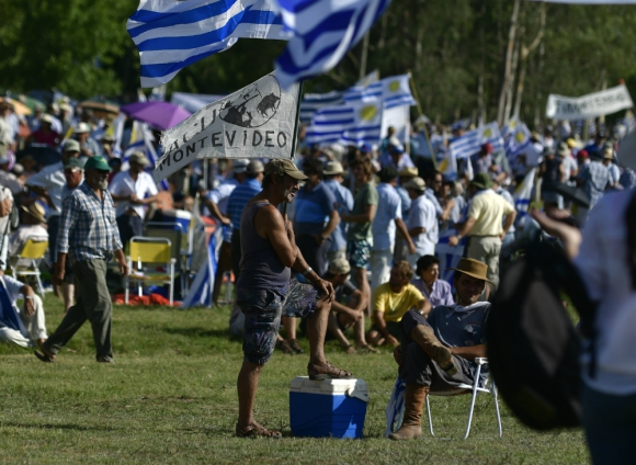 Productores se están organizando, a 24 horas de la movilización. Foto: F. Ponzetto