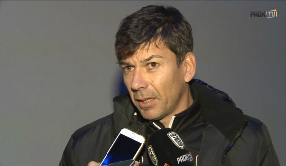 Pablo García, entrenador de las formativas del PAOK