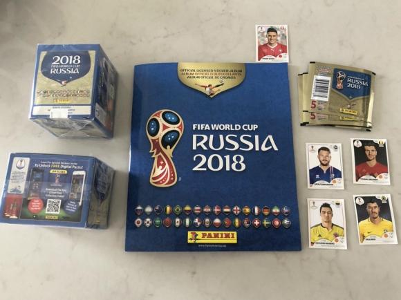 El álbum de Rusia 2018 ya se vende en algunos países