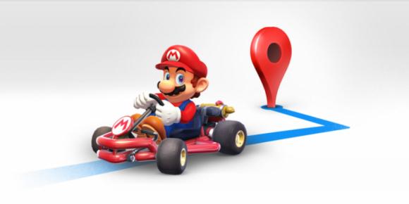 Super Mario y Google Maps