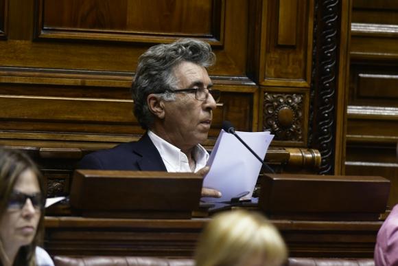 Darío Pérez apoyó un proyecto que generó resistencias en el Frente Amplio. Foto: Darwin Borrelli