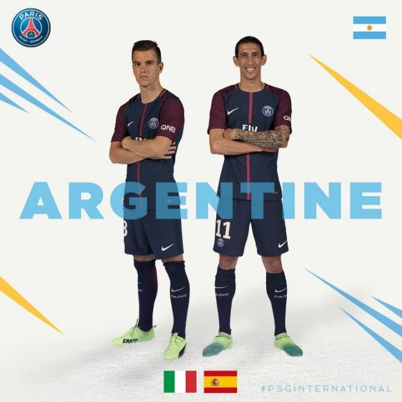 Los argentinos están a la cabeza de otro grupo en la interna del PSG