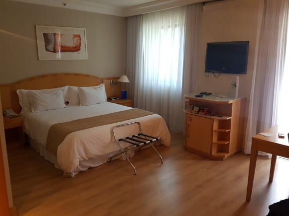Habitación del hotel de Nacional. FOTO: Juan Pablo Romero.
