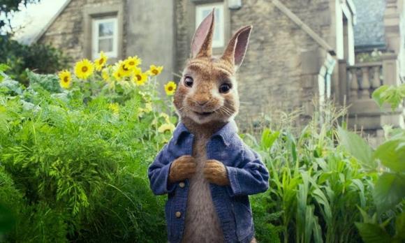 """Imagen promocional de """"Peter Rabbit"""""""