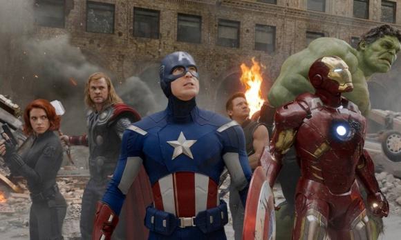 """Imagen promocional de """"Los Vengadores"""