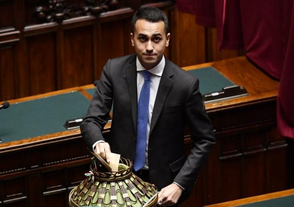 Luigi Di Maio. Foto: AFP