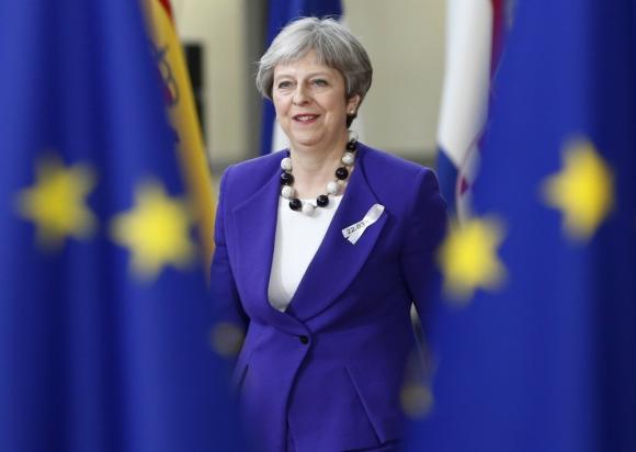 Theresa May obtuvo un periodo de transición de dos años. Foto: Reuters