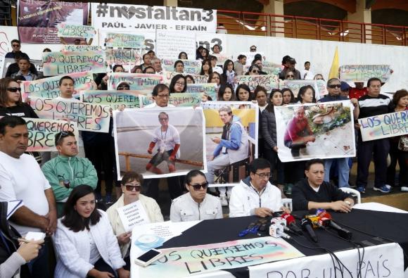 Resultado de imagen para secuestro periodista en Ecuador