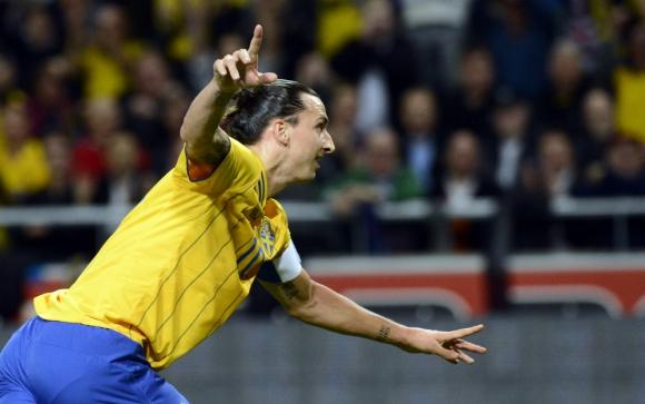 Ibrahimovic minimizó el gol de chalaca de Cristiano Ronaldo con esta frase