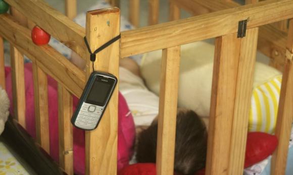 Un monitor para la cuna del bebé, si tiene cámara más completo.