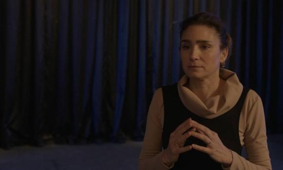 "Valeria Bertuccelli en ""La reina del miedo"""