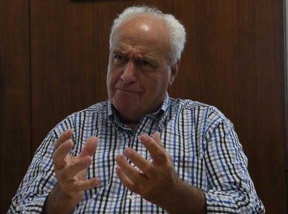 Víctor Rossi: ministro de Transporte y obras Públicas. Foto: Ariel  Colmegna