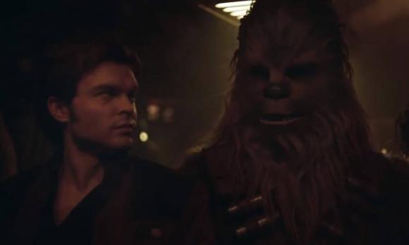 """Alden Ehrenreich como Han Solo en """"Han Solo: una historia de Star Wars"""""""