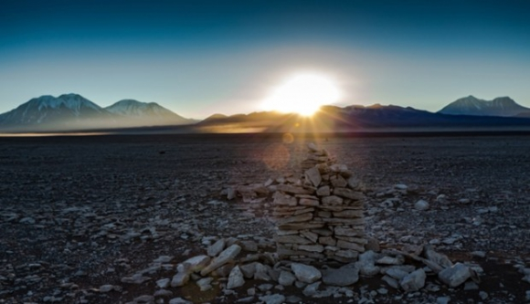 Saywas encontradas en Atacama. Foto Museo Chileno de Arte Precolombino