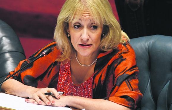 Según la oposición, Cosse no dio precisiones sobre futuro del proyecto de la regasificadora. Foto: F. Flores