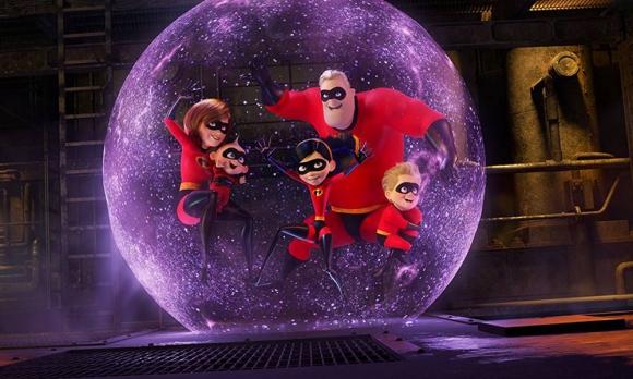 """Imagen promocional de """"Los Increíbles 2"""""""