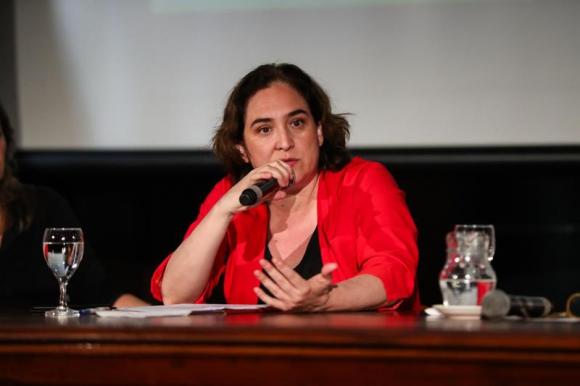 Ada Colau, alcaldesa de Barcelona. Foto: EFE