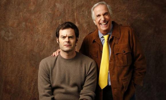 "Bill Hader y Henry Winkler, actores de ""Barry"". Foto: HBO"