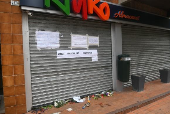 El trabajador asesinado fue reconocido en el local donde ocurrió el crimen. Foto: Francisco Flores