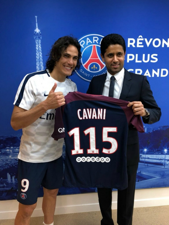 Al Khelaifi confirmó que Cavani y Neymar se quedan en el PSG ...