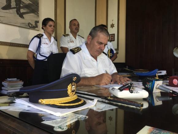 jefe de Policía de Cerro Largo Wilfredo Rodríguez.