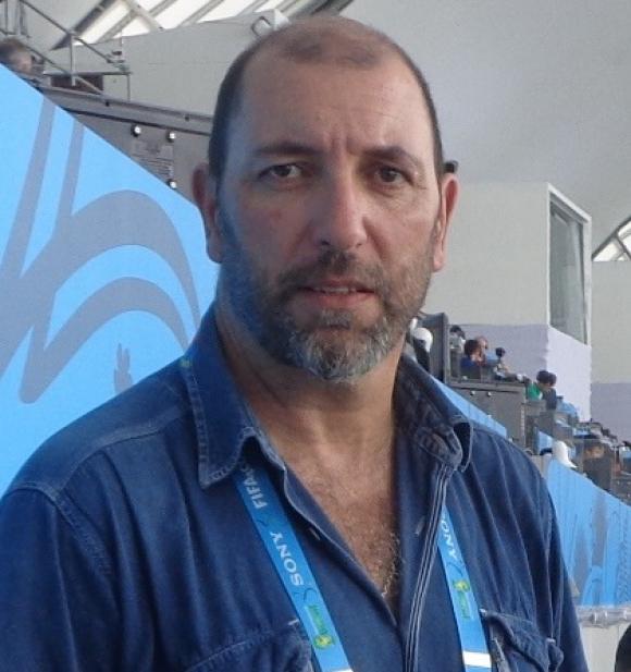 Yelis Fontes. El profesional rochense ya cubrió a Uruguay en la Copa Confederaciones 2013 y el Mundial de Brasil 2014.