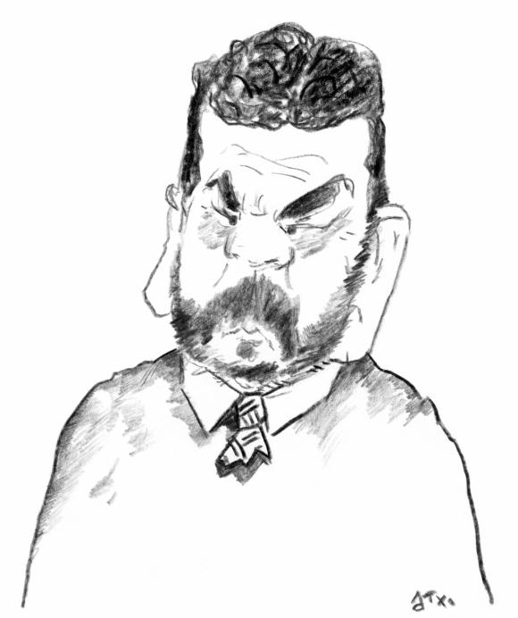 Mario Layera por Arotxa