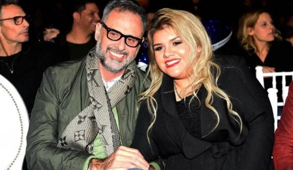 Morena y Jorge Rial