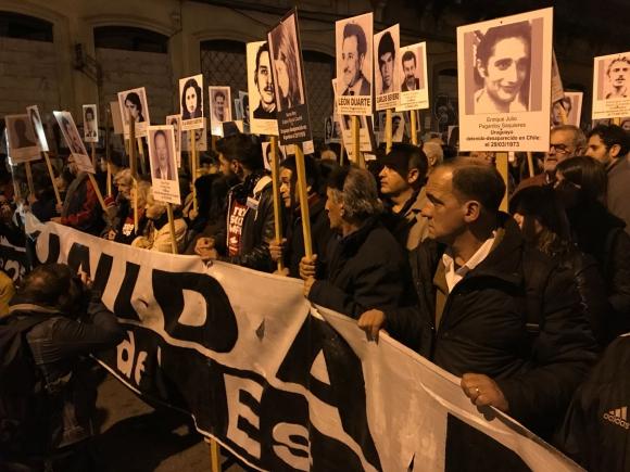 Marcha del Silencio. Foto: Nicolás González