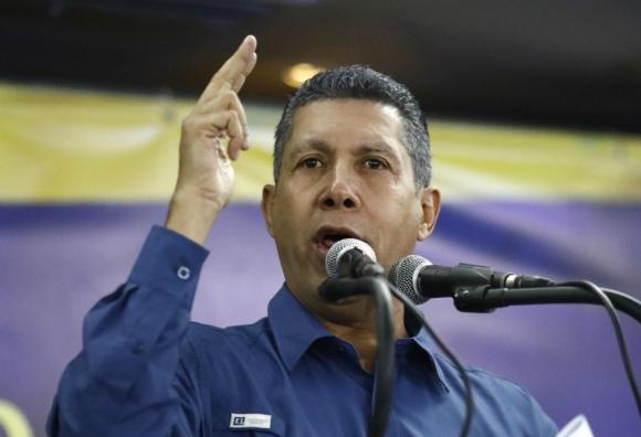 """El candidato opositor, Falcón, dijo que los resultados """"carecen de legitimidad"""". Foto: Reuters"""