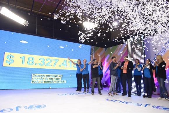 Diferentes celebridades participaron de la jornada. Foto:@UNICEFuruguay