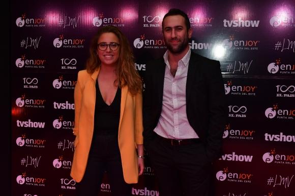 Fernanda Kosak y Pablo Fernández. Foto: Darwin Borrelli