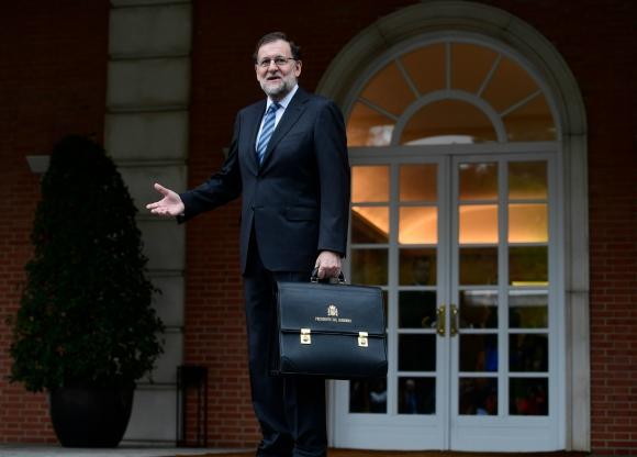 Mariano Rajoy fue destituido por el Congreso. Foto: AFP.